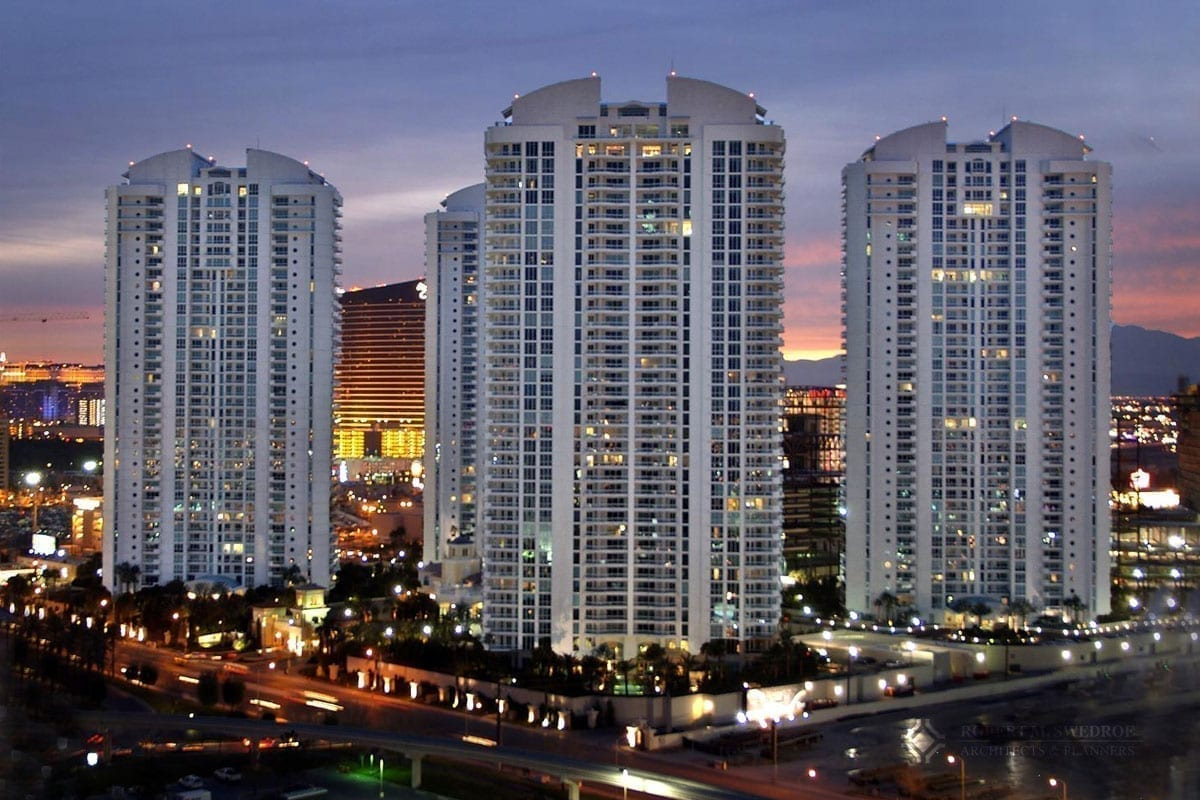Turnberry Place Las Vegas by Robert M. Swedroe Architecture Miami