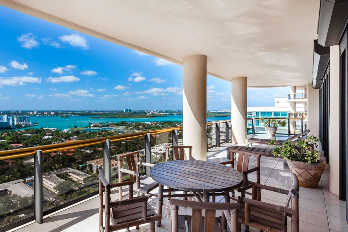 Bal Harbour Tower - High Rise Luxury Condo Residential Design - Swedroe Architecture