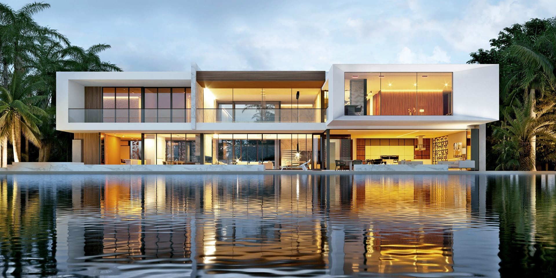 Luxury Contemporary Home Design in Miami by Swedroe Architecture and Rex Nichols Architects